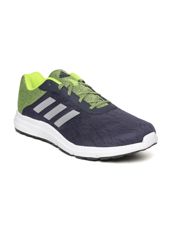 2ca7025a96c4 Buy ADIDAS Men Navy   Lime Green STARDRIFT 1.0 Running Shoes ...