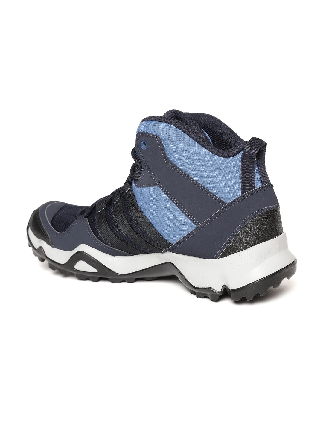 ca3ec27a1bb8 Buy Adidas Men Blue   Black Path Cross Mid AX2 Trekking Shoes ...
