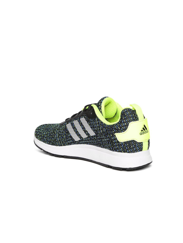 28dfeb9e4960 Buy ADIDAS Boys Fluorescent Green   Black Legus K Patterned Running ...