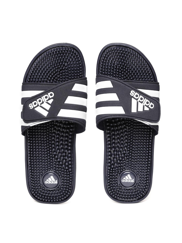 af526873eac8f Buy ADIDAS Men Navy ADISSAGE Striped Sliders - Flip Flops for Men ...