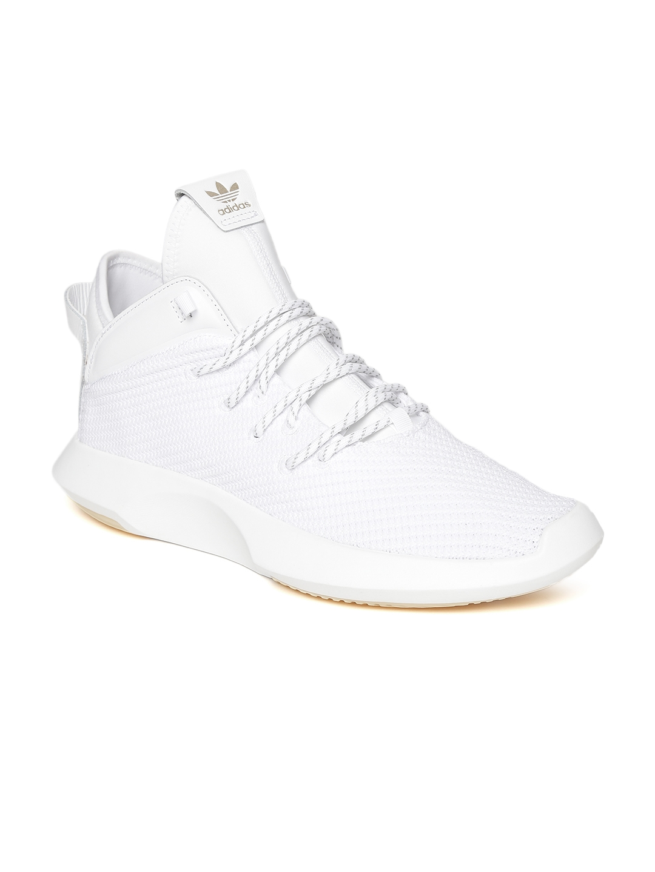 816e7b1f34a Buy ADIDAS Originals Men White Crazy 1 ADV Woven Design Sneakers ...