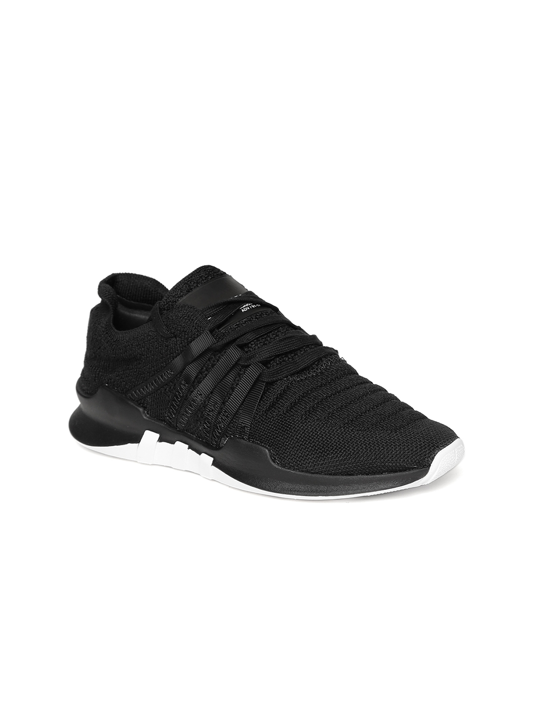 8053902af4c7 Adidas Originals Women Black EQT Racing ADV PK Woven-Design Sneakers