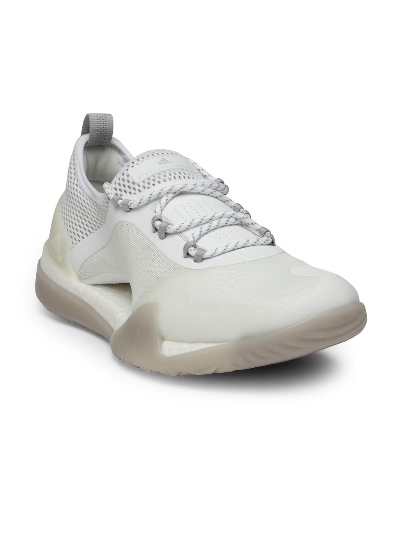 0b1fa6847da Stella McCartney by ADIDAS Women Off-White PUREBOOST X TR 3.0 Training Shoes