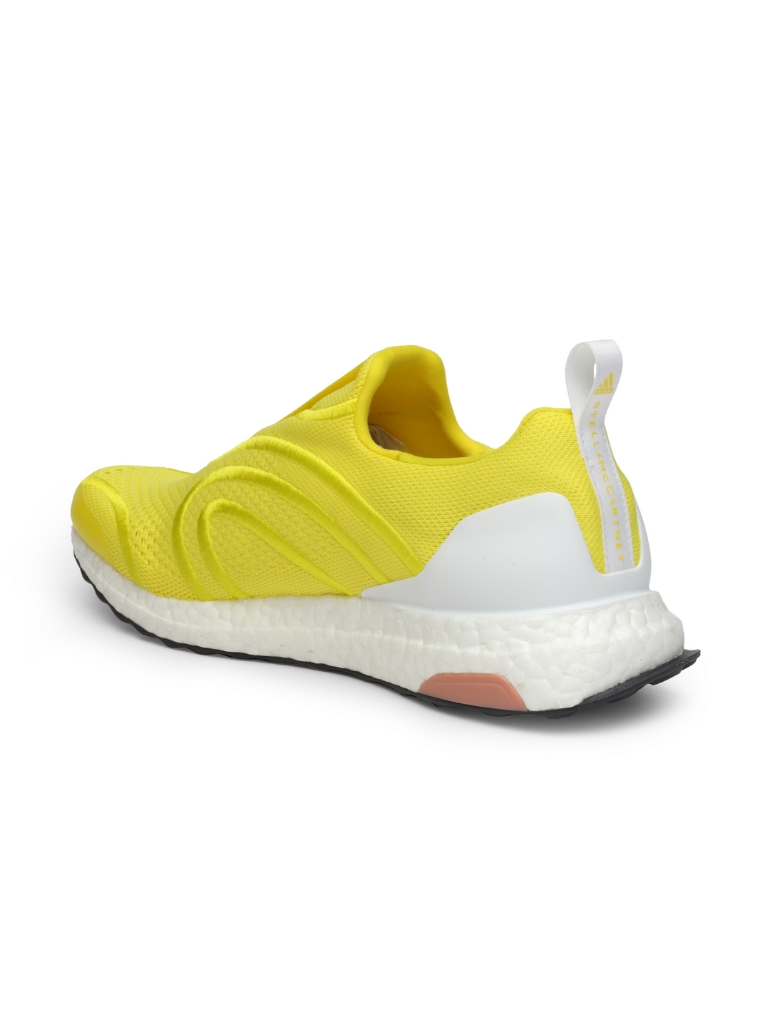 b31feaa94ad5a Stella McCartney by ADIDAS Women Yellow Ultraboost Uncaged Running Shoes