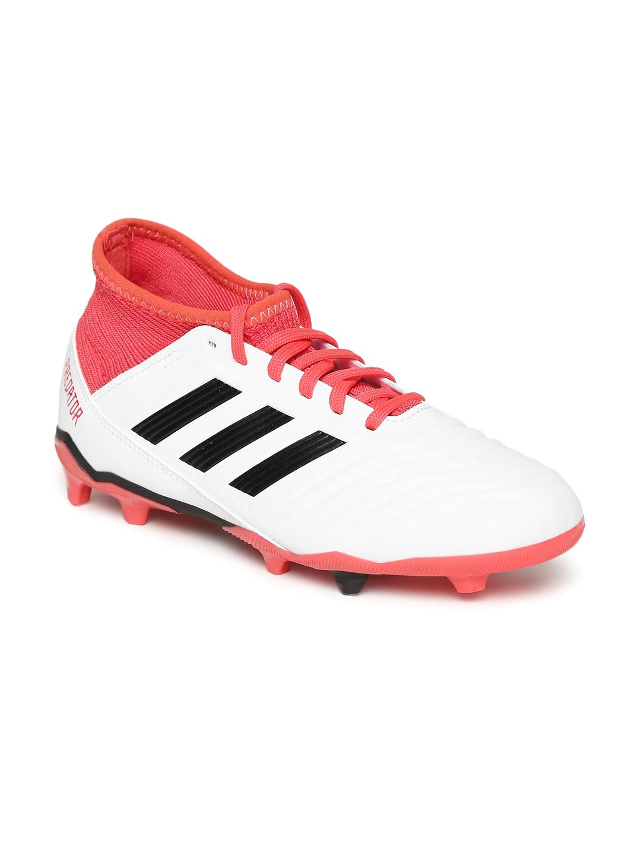 best cheap c0d83 d9376 ADIDAS Boys White Predator 18.3 FG Football Shoes