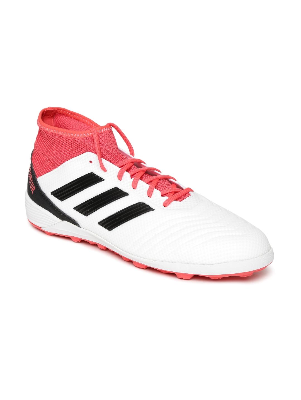sale retailer 300cf 2f9c4 ADIDAS Men White Predator Tango 18.3 TF Football Shoes