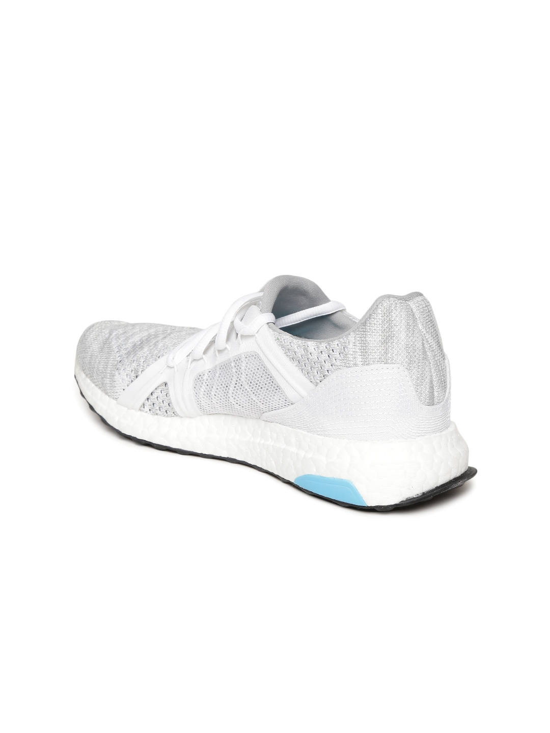 b1dfa1a24 Stella McCartney by ADIDAS Women Grey   White Ultraboost Parley Running  Shoes
