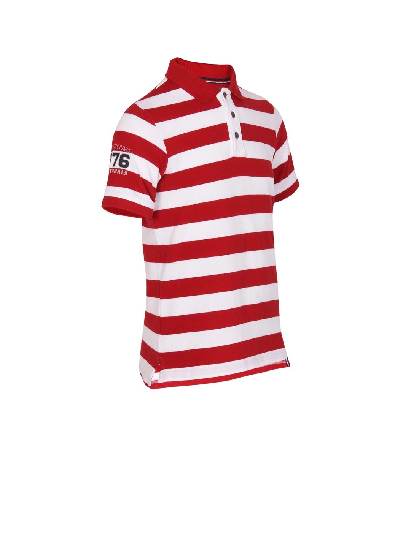 e4470094e9 Buy Jockey Boys Red & White Striped Polo T Shirt - Tshirts for Boys ...
