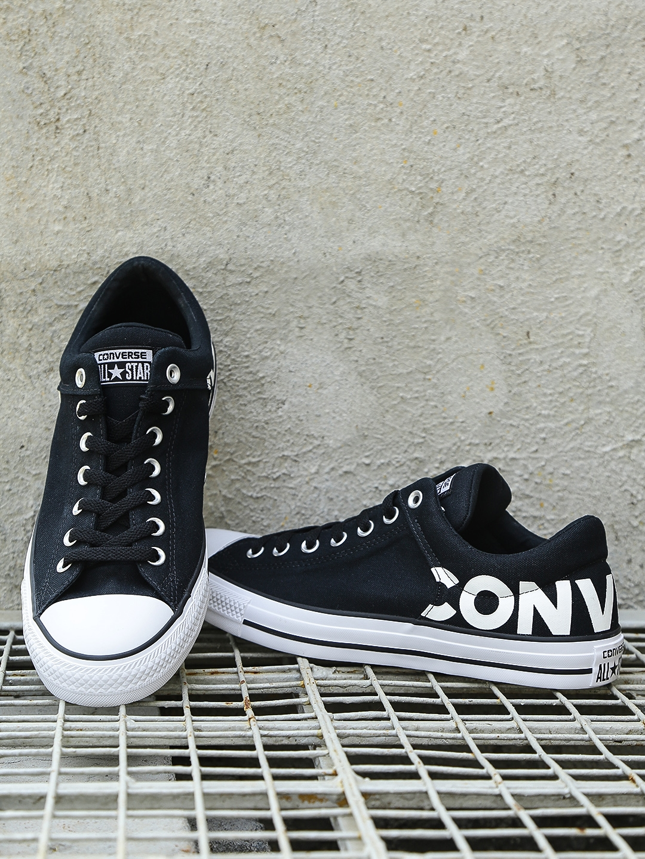 b35c17cac2e3 Buy Converse Men Black Printed Sneakers - Casual Shoes for Men ...