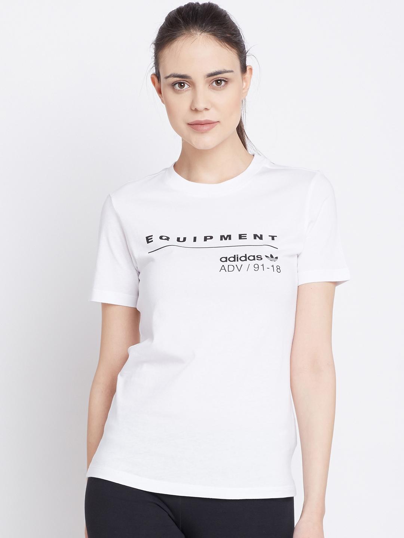 Injerto caravana Tendencia  Buy ADIDAS Originals Women EQT T Shirt - Tshirts for Women 2419718   Myntra