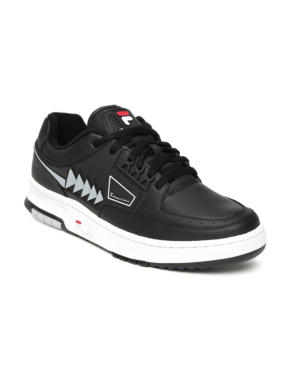 c1e1f3fdc59a Buy FILA Men Black Tourissimo Low Sneakers - Casual Shoes for Men ...