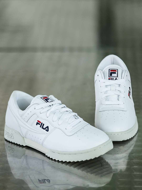 b836ebc404d0be Buy FILA Men White Original Fitness Ripple Leather Sneakers - Casual ...