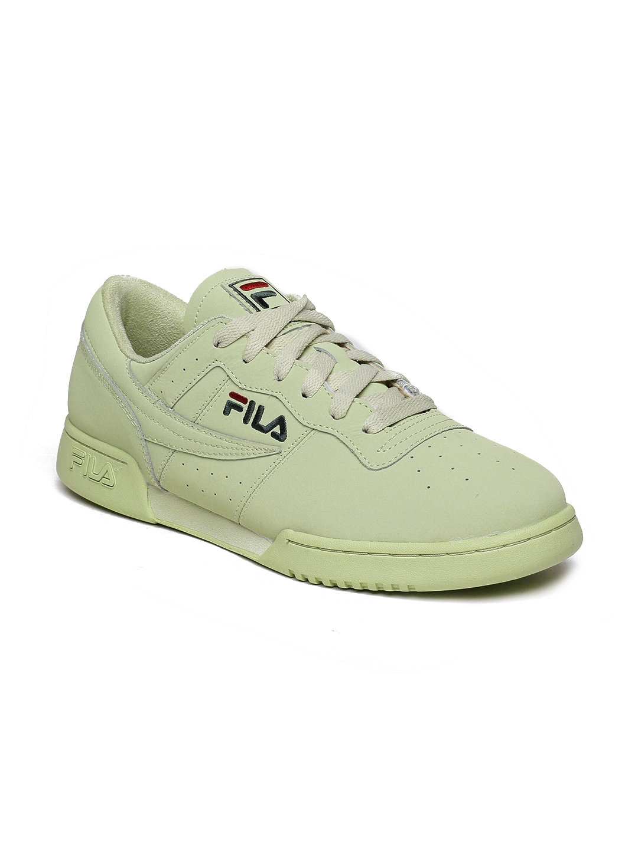 official photos 725f6 70330 FILA Men Green Original Fitness Premium Sneakers