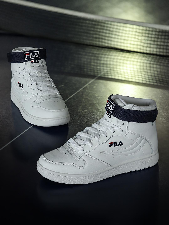 Buy FILA Women White Solid Synthetic