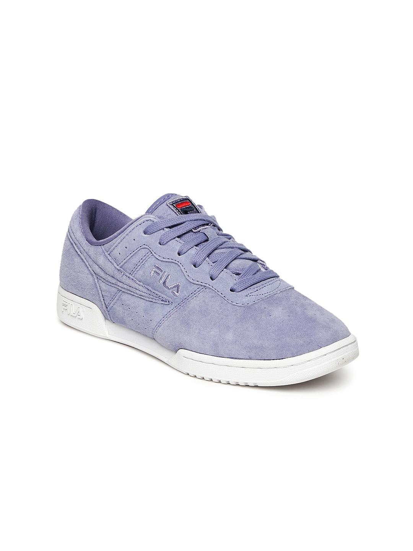 b9ac30bbfdf6 Buy FILA Women Lavender Original Fitness Premium Suede Sneakers ...