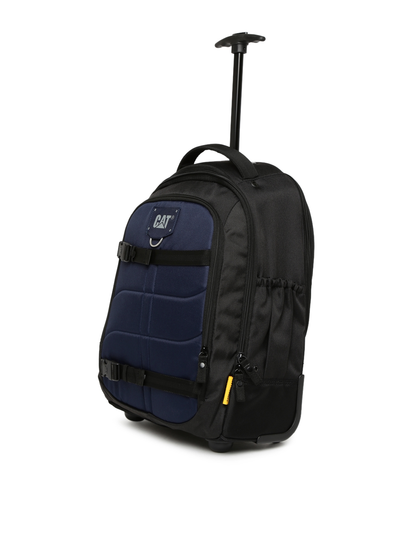 2c4af914d6f Buy CAT Unisex Navy & Black Millenial Polyester 16 Liters Trolley ...