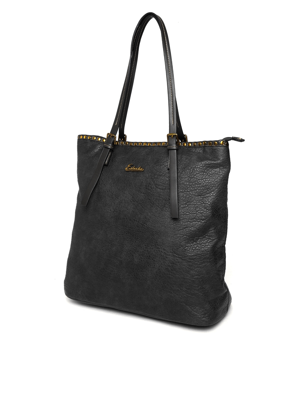 7e2c8094bd Buy ESBEDA Black Solid Shoulder Bag - Handbags for Women 2428873 ...
