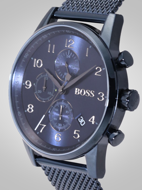 e2b53bc6908 Buy Hugo Boss Men Navy Blue Multifunction Analogue Watch 1513538 ...