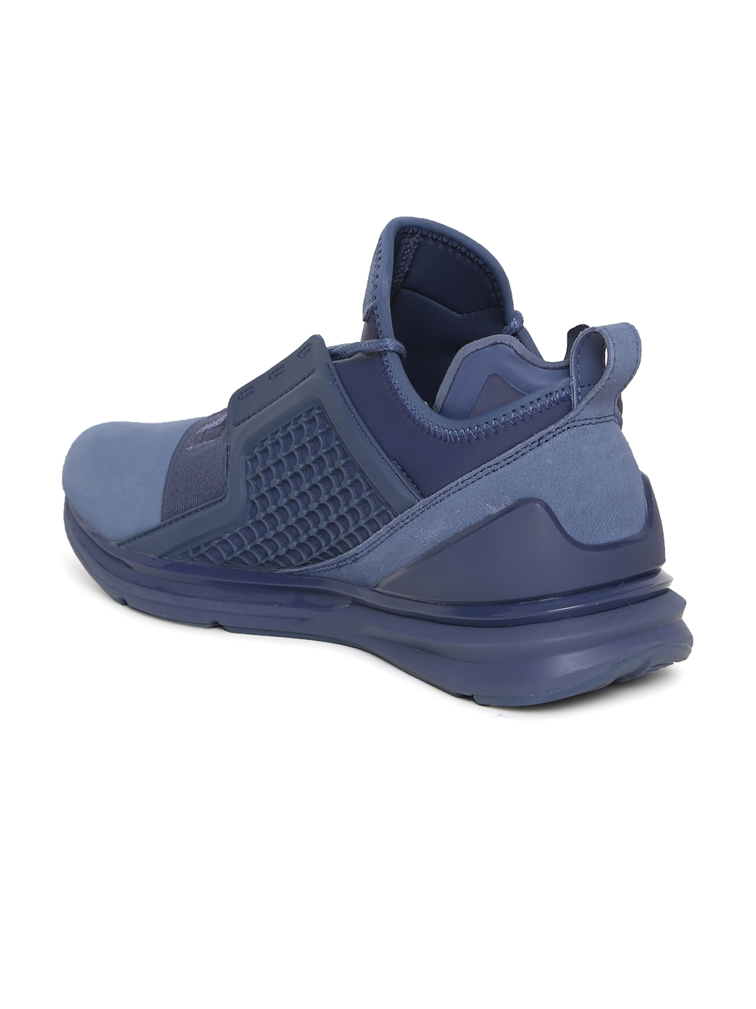 e977384d52a Buy Puma Men Blue IGNITE Limitless Brushed Suede Sneakers - Casual ...