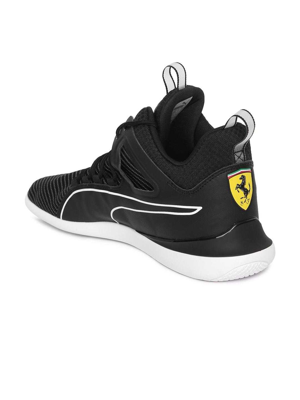 2e836ff607f4b9 Buy Puma Men Black Scuderia Ferrari Evo Cat Sneakers - Casual Shoes ...