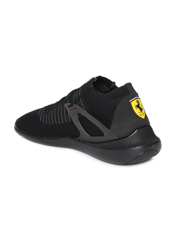 Buy Puma Men Scuderia Ferrari Evo Cat Sock Lace Sneakers - Casual ... 7a3c4e346e