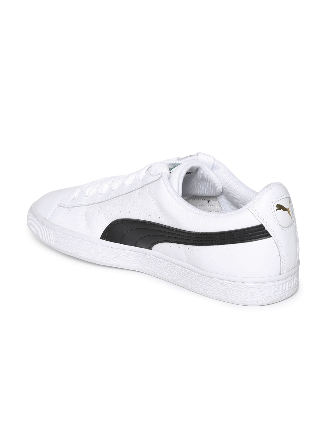 cf7c5046f34 Buy Puma Men White Basket Classic LFS Sneakers - Casual Shoes for ...