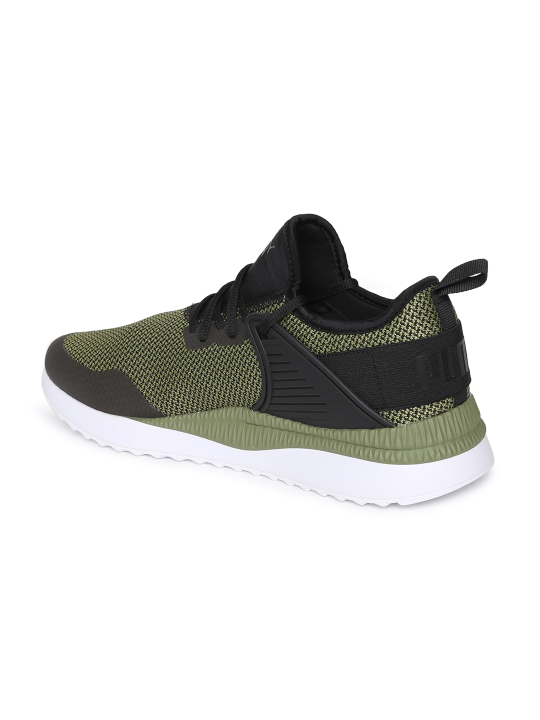 f7f69740318012 Buy Puma Men Black Solid Pacer Next Cage GK Sneakers - Casual Shoes ...