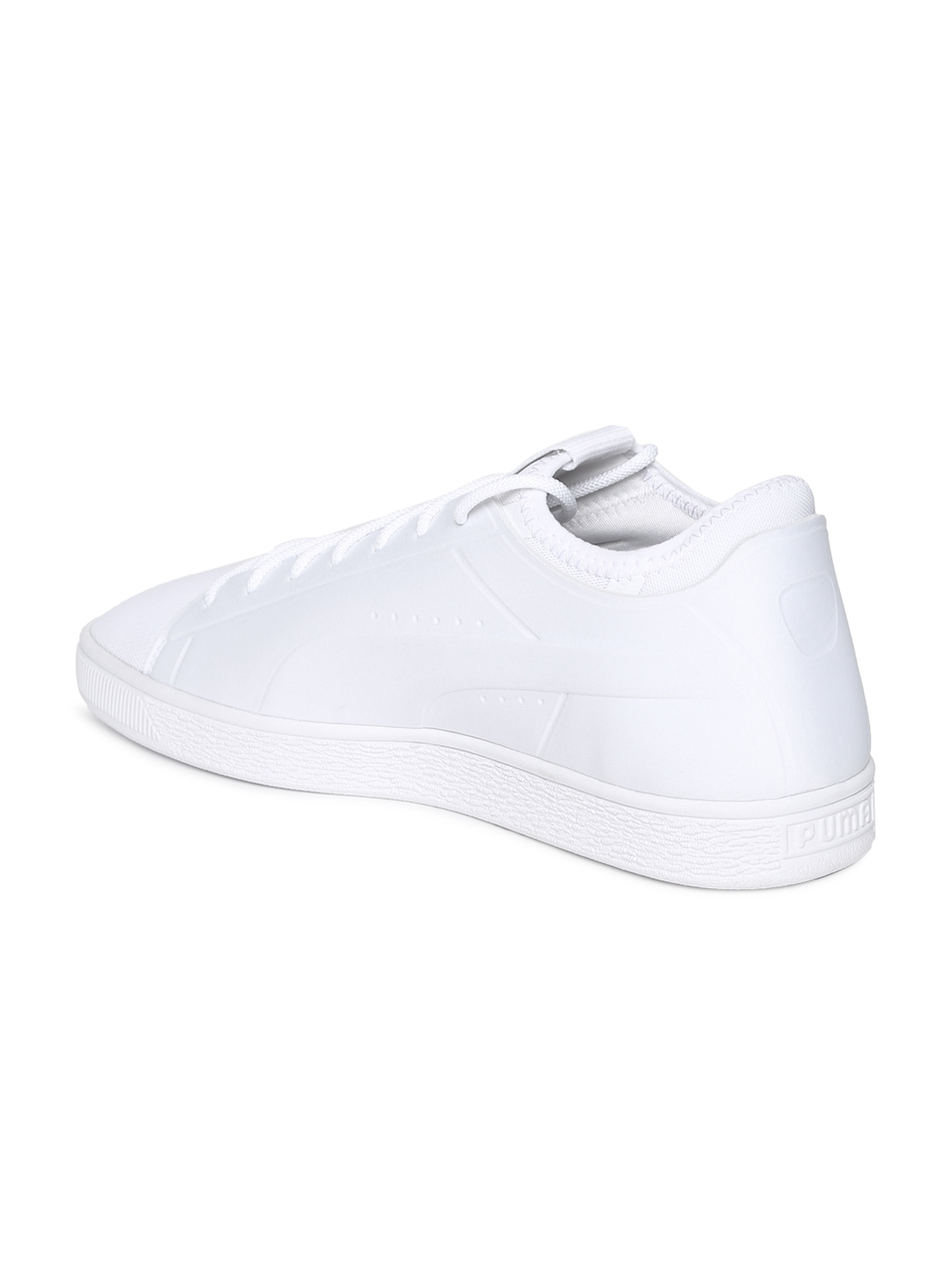 0ab65383e97 Buy Puma Men White Basket Classic Sock Lo Sneakers - Casual Shoes ...