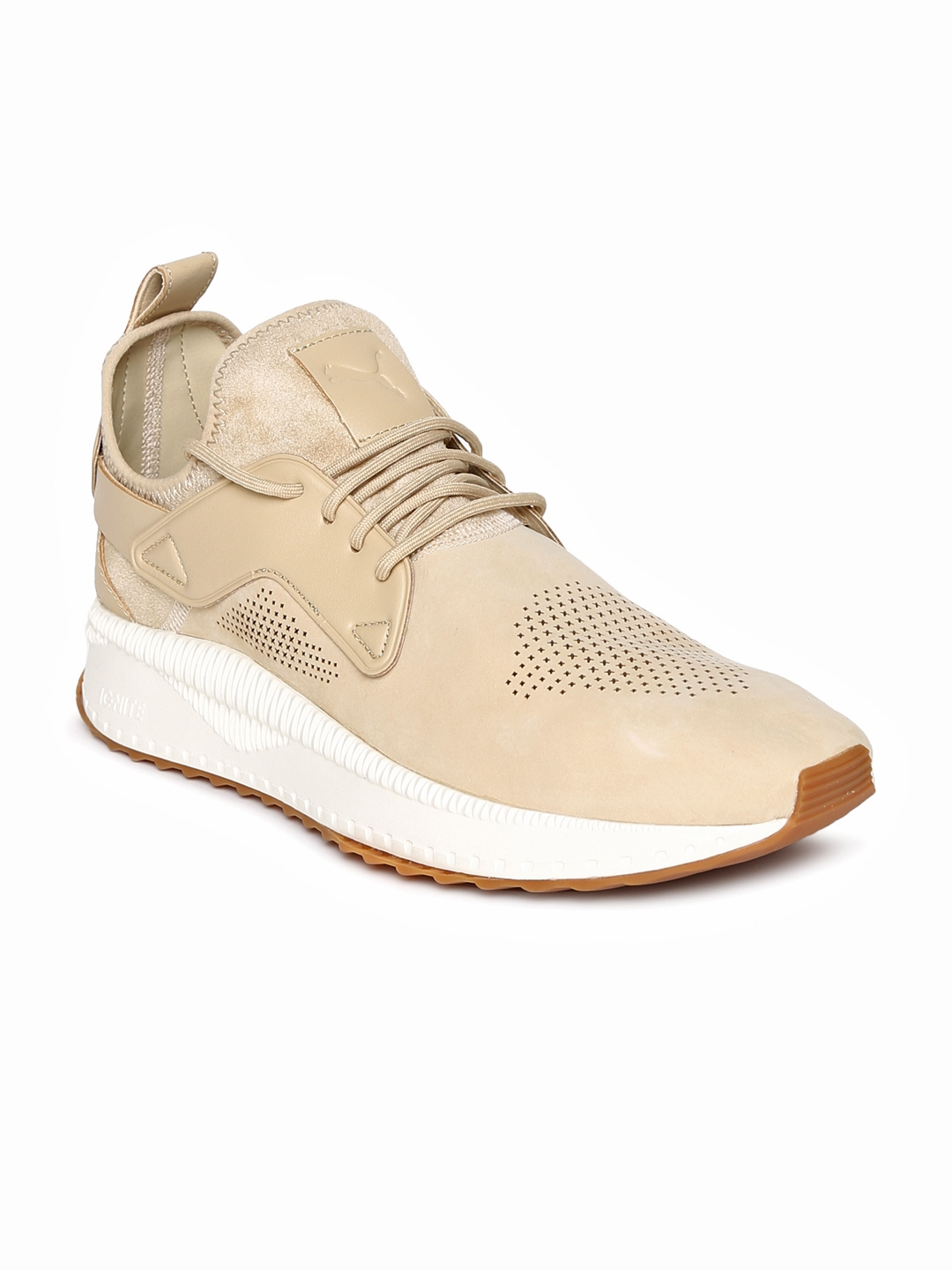 5942d2a6313639 Buy Puma Men Peach   White TSUGI Cage Roasted Sneakers - Casual ...