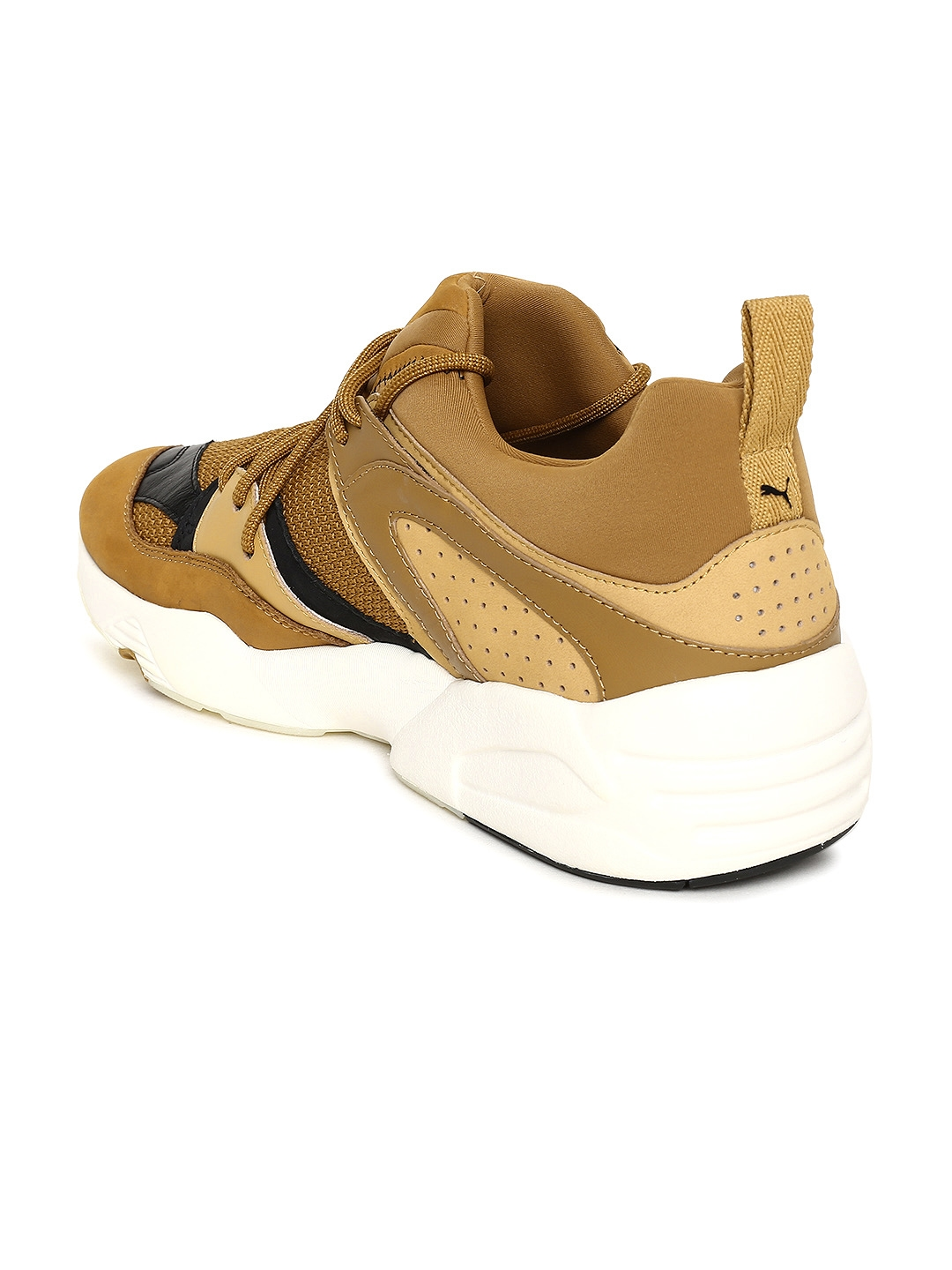 a539519b4e Buy Puma Men Brown Blaze Of Glory Sunfade Leather Sneakers - Casual ...