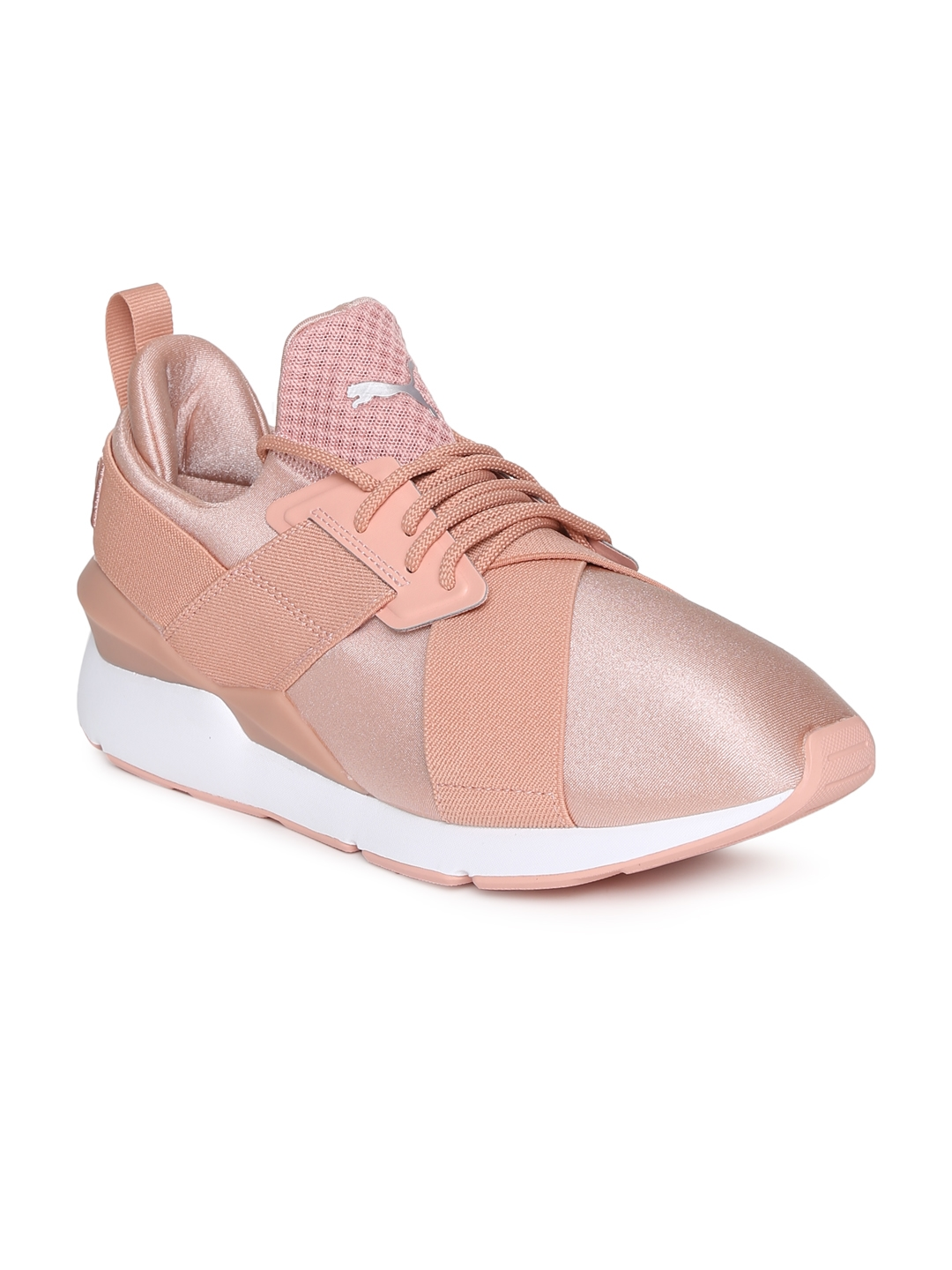 ed530380c21 Buy Puma Women Pink Muse Satin EP Sneakers - Casual Shoes for Women ...