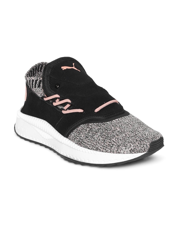 2ab037bc0172b1 Buy Puma Women Black TSUGI Shinsei EvoKnit Slip On Sneakers - Casual ...