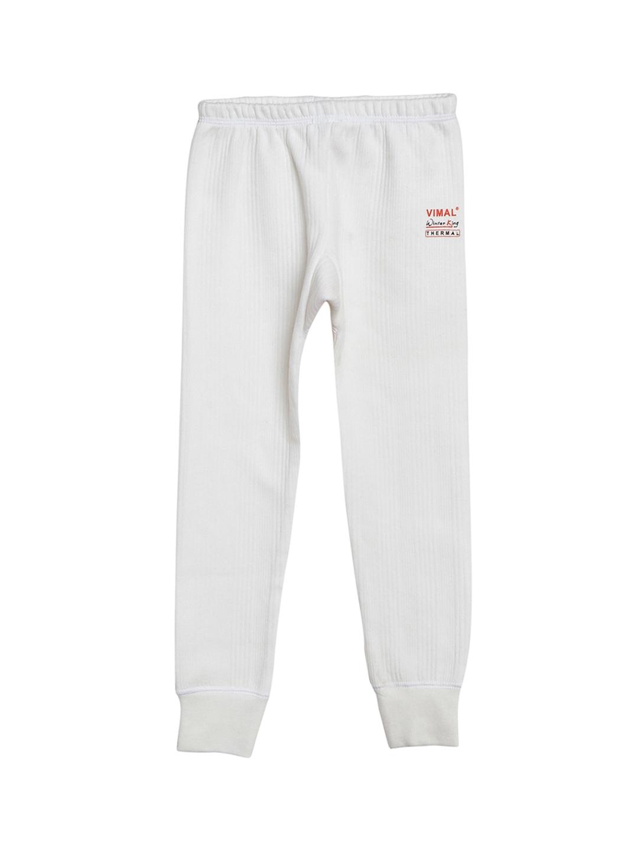 VIMAL Girls White Thermal Pant