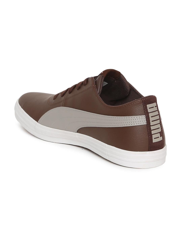 27f72e737d40 Buy Puma Men Brown Urban SL IDP Sneakers - Casual Shoes for Men ...