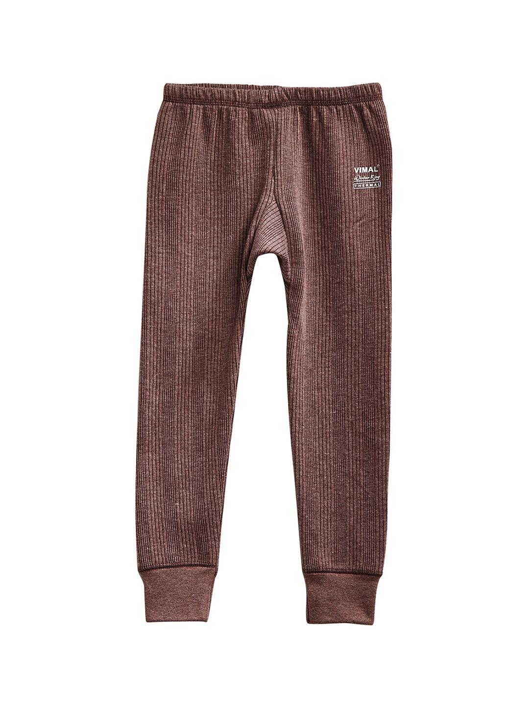 VIMAL Girls Brown Thermal Pant