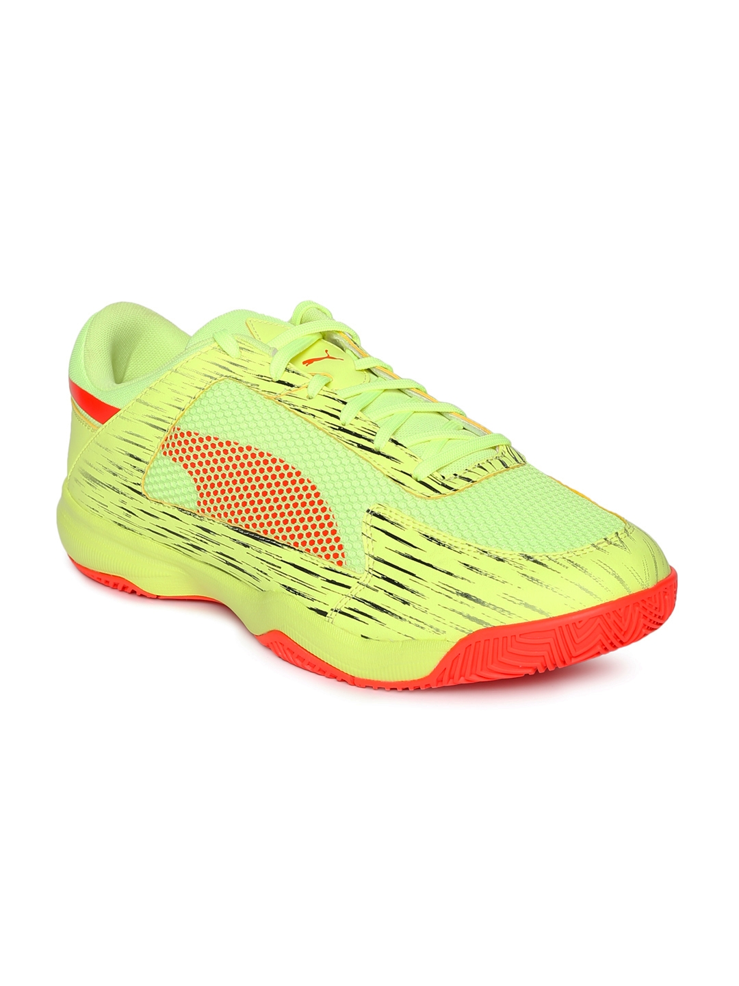 dadbfc1fad5bb4 Buy Puma Yellow EvoSPEED Indoor Netfit EURO 5 Shoes - Sports Shoes ...