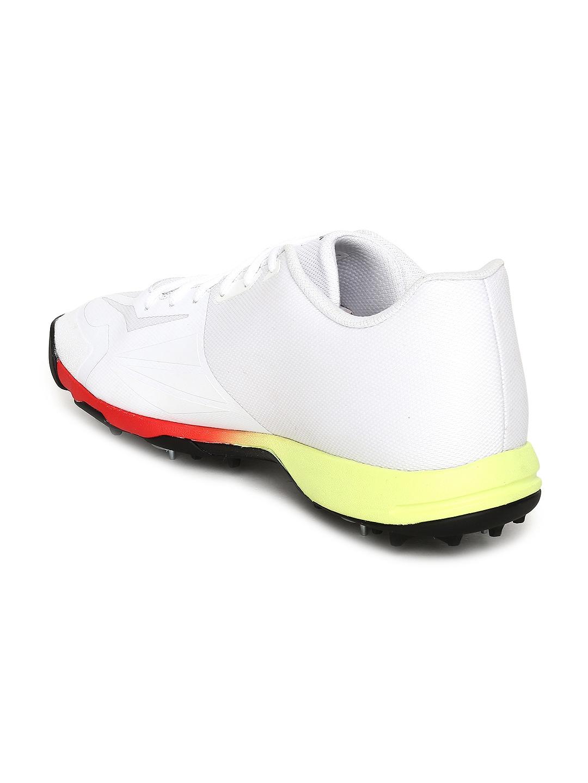 5de0a9f13e9ace Buy Puma Men White EvoSPEED 18.1 Cricket Shoes - Sports Shoes for ...