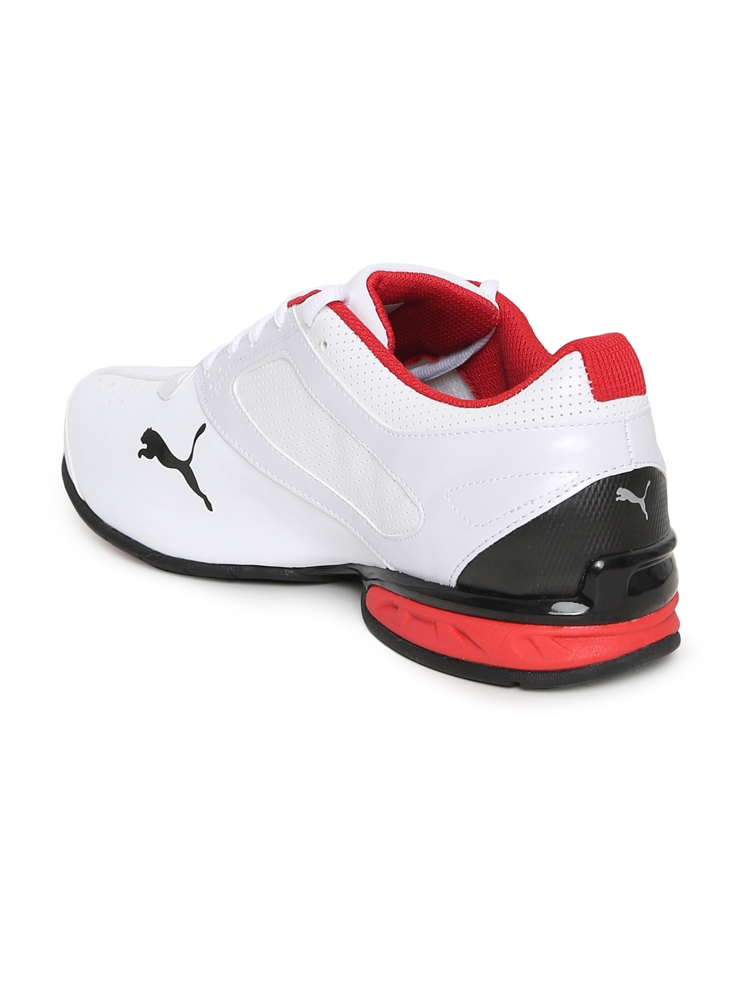 Buy Puma Men White Tazon 6 FM Sports Running Shoes - Sports Shoes ... 25bbdcad8