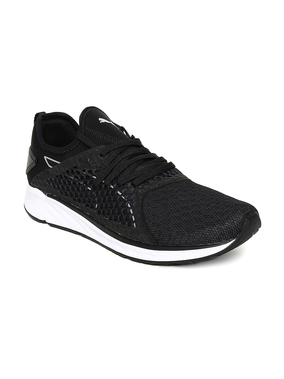 Buy Puma Men Black IGNITE 4 NETFIT Running Shoes - Sports Shoes for ... 63e187d35