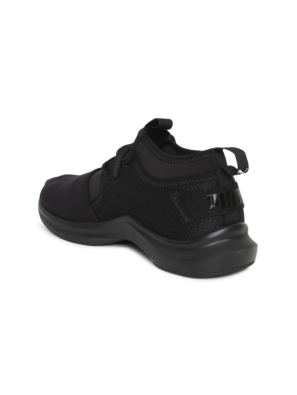 7242b44c93eed8 Buy Puma Women Black Phenom Low Wn S Training Shoes - Sports Shoes ...
