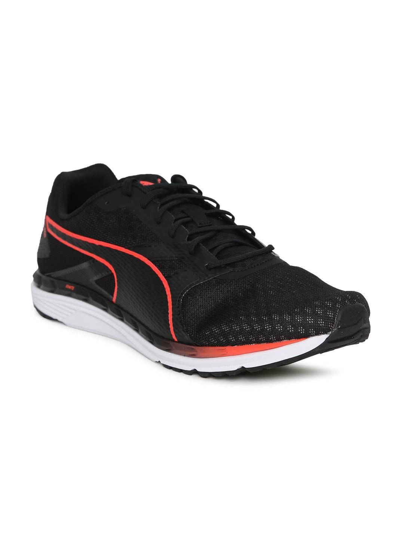 947ebcc48ce Buy Puma Men Black Speed 300 IGNITE 3 Running Shoes - Sports Shoes ...