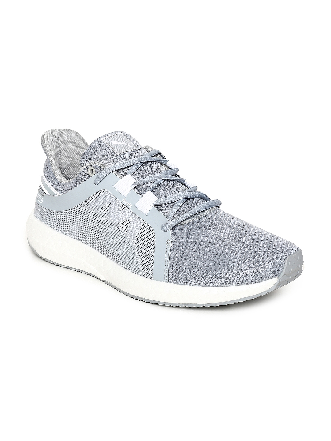 1a3e89ba1f065d Buy Puma Women Grey Mega NRGY Turbo 2 Running Shoes - Sports Shoes ...