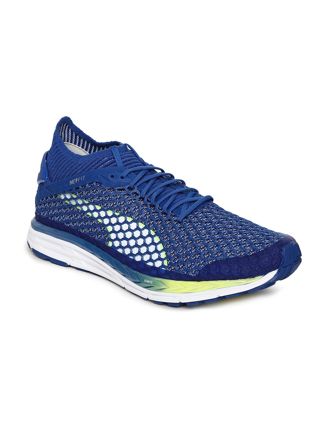 5646308eef3808 Buy Puma Men Speed IGNITE NETFIT 2 Running Shoes - Sports Shoes for ...