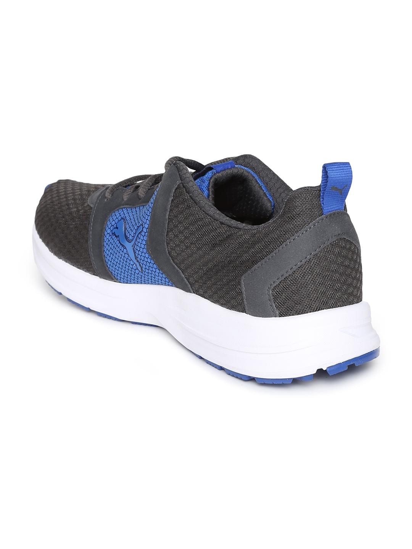 official photos 61033 6d052 Puma Men Grey   Blue Deng IDP Running Shoes