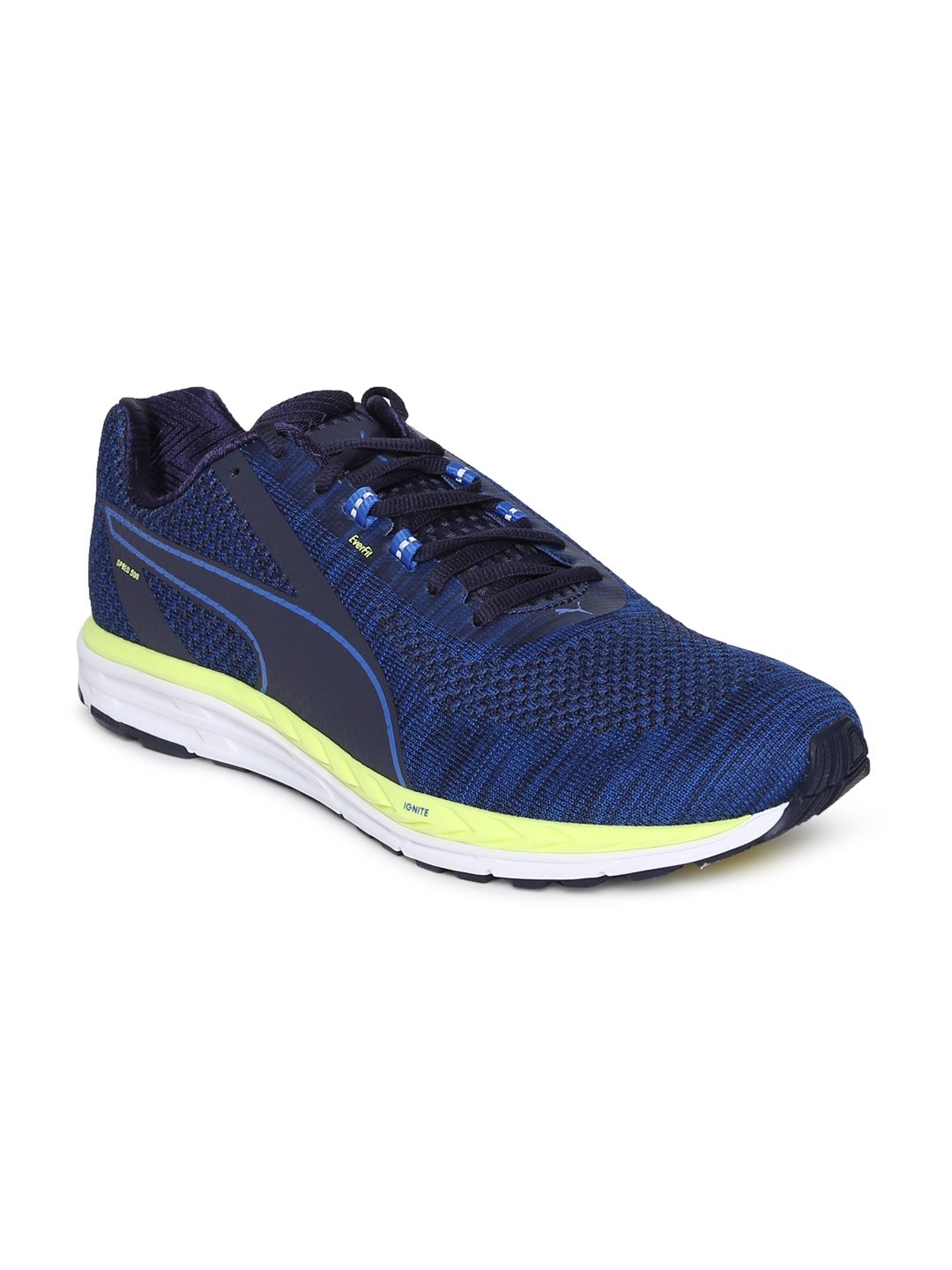 bcf9cf4967c Buy Puma Men Blue Speed 500 IGNITE 3 Running Shoes - Sports Shoes ...