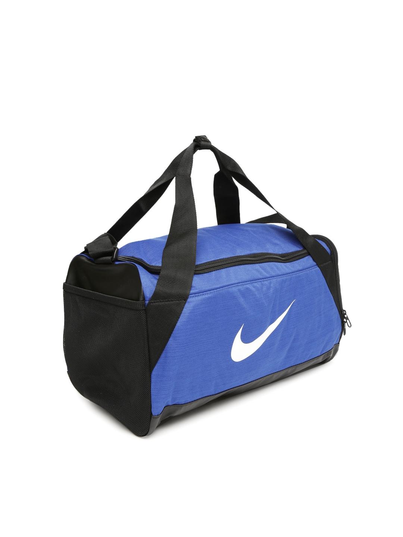 Buy Nike Unisex Blue Brasilia Small Training Duffel Bag - Duffel Bag ... 468a51d59bf34