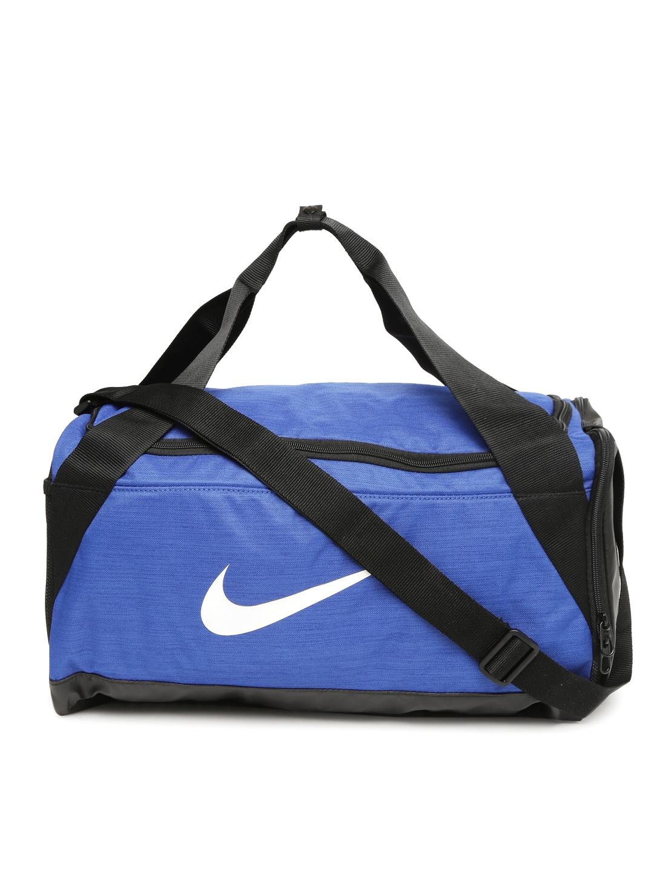 8ced4fc17297 Buy Nike Unisex Blue Brasilia Small Training Duffel Bag - Duffel Bag ...
