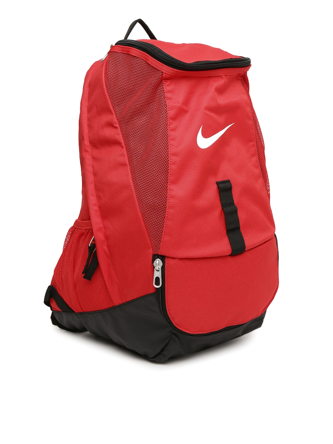 Buy Nike Men Red Solid CLUB TEAM Football Backpack - Backpacks for ... b1a133ec7e6f1