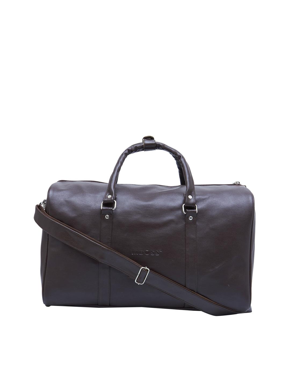 MBOSS Unisex Brown Duffel Bag