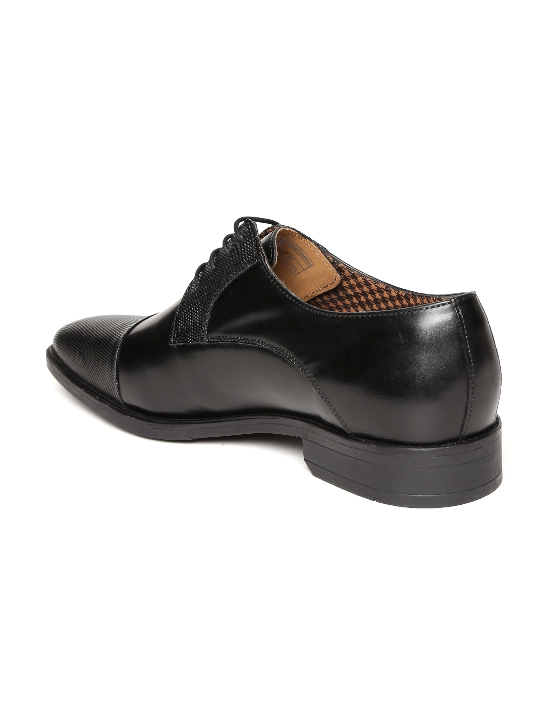 50ca28ee1e Buy Van Heusen Men Black Leather Derby Formal Shoes - Formal Shoes ...